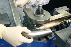 خم کاری لولههای آلومینیوم