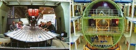 شکل 2 - استفاده از آلومینیوم در ساخت بدنه داخلی هواپیما